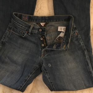 Lucky brand slim bootleg size 28 mid rise
